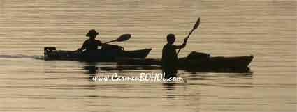 Kayakers In Kayak